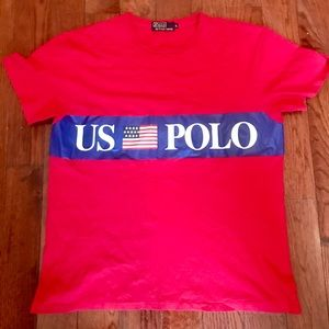 Ralph Lauren polo te shirt US-PoLO MEN SIZE LARGE